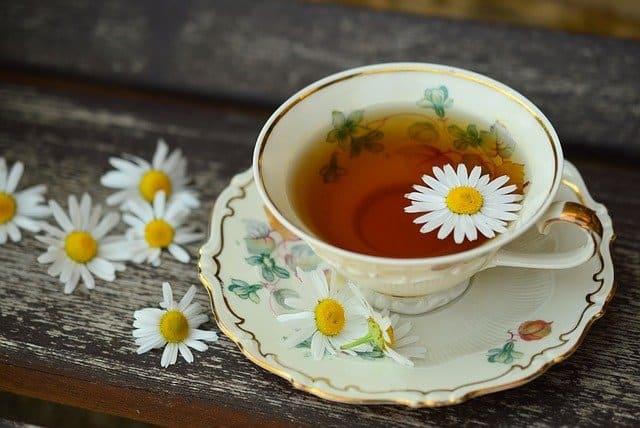 chamomile tea for nasal polyps